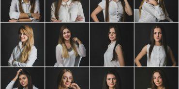 """Фото учасниць конкурсу краси та інтелекту """"СтудМіс Коломиї"""", який відбудеться 30 листопада"""
