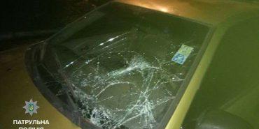 На Франківщині автомобіль збив пішохода і втік – водія знайшли. ФОТО
