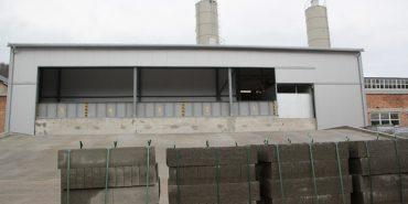 На Франківщині відкрили завод, що виготовлятиме будівельні вироби з бетону. ФОТО