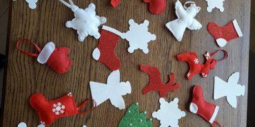 У Катедральному соборі УГКЦ відбувся майстер-клас з виготовлення новорічних прикрас. ФОТО
