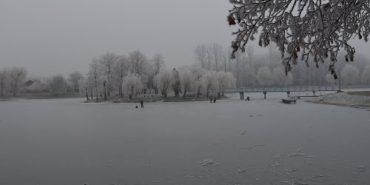 У Коломиї троє дітей хотіли погратися на тонкій кризі озера