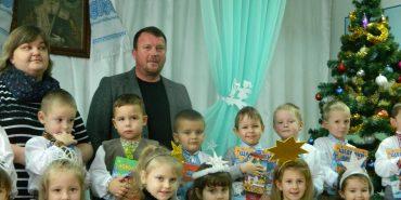 На Коломийщині аграрії привітали дітей зі святом Святого Миколая