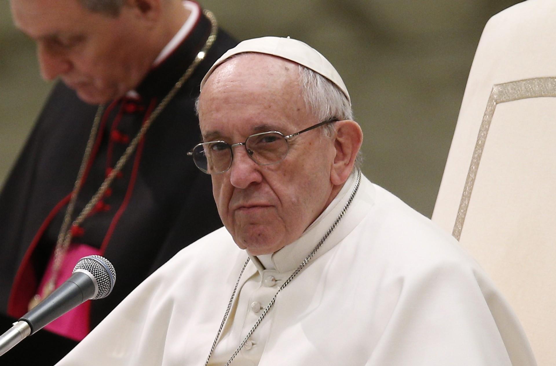 Внести корективи дотексту «Отче наш» пропонує Папа Римський