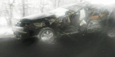 На Коломийщині сталася ДТП, бо водій заснув за кермом, є постраждалі