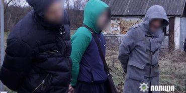 На Франківщині затримали групу чоловіків, які обкрадали будинки. ФОТО