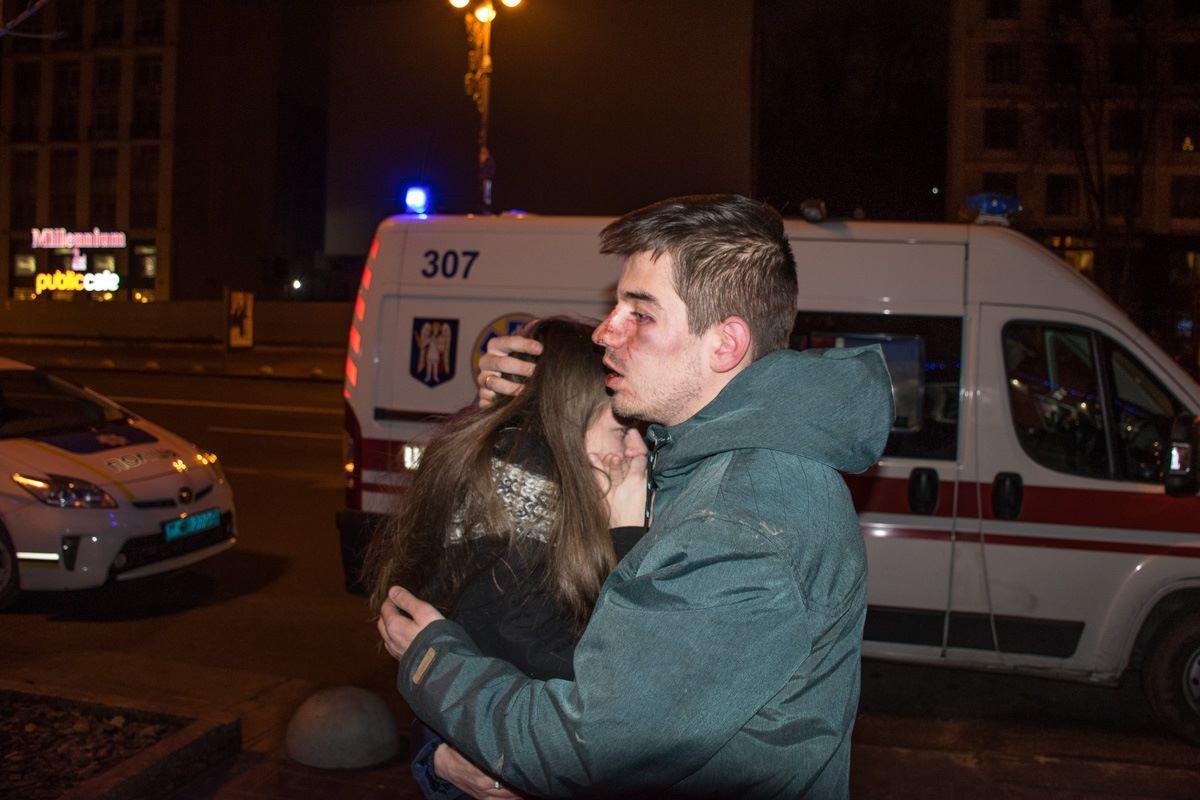 Уцентрі Києва співробітники піцерії побили своїх відвідувачів