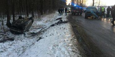 На Коломийщині в ДТП постраждало семеро людей. ФОТО