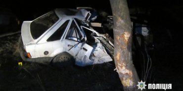 У поліції оприлюднили фото смертельної аварії на Прикарпатті. ФОТО
