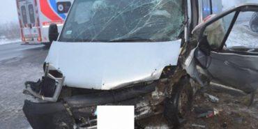 Автобус з українцями потрапив у ДТП в Словаччині: семеро постраждалих. ФОТО