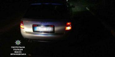 Поліція зупинила на Прикарпатті автомобіль з п'яним подружжям і 3-місячною дитиною. ФОТО