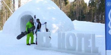 У Карпатах побудують унікальний готель зі снігу та льоду