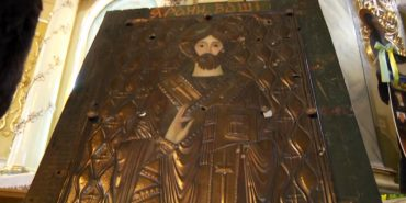 До Коломиї привезли унікальну ікону зі Сходу. ВІДЕО