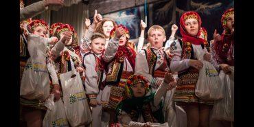 """Благодійний фонд """"Покуття"""" привітав коломийських дітей зі святами. ВІДЕО"""