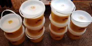 З Прикарпаття на передову відправили 100 кг меду. ФОТО
