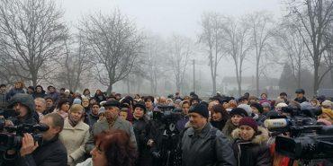 У Коломиї страйкують медики. ФОТО+ВІДЕО