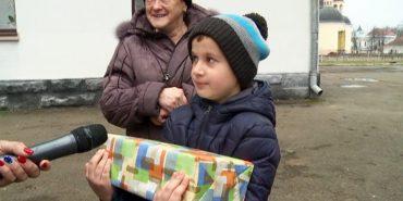 Коломийські гімназисти отримали дарунки від австрійських однолітків. ВІДЕО