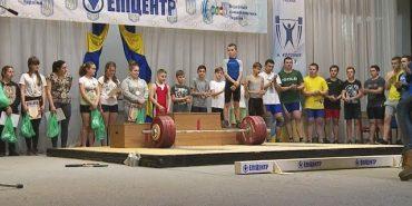 У Коломиї відбувся відкритий чемпіонат області з важкої атлетики. ВІДЕО