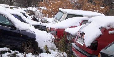 Більше сотні автомобілів зберігаються на арештмайданчику в Коломиї. ВІДЕО