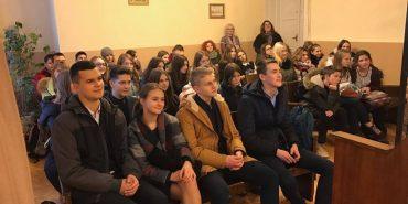 Коломийські судді зустрілися з гімназистами. ФОТО