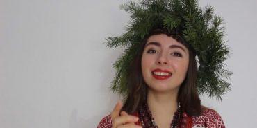 Співачка з Коломиї оригінально привітала з Різдвяними святами. ВІДЕО