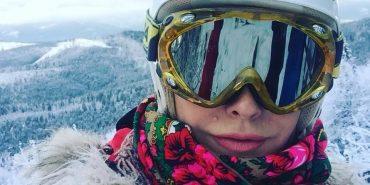 Ольга Сумська показала фото з відпочинку в Карпатах