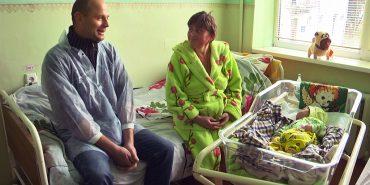 Першою у Коломиї в 2018-ому народилася дівчинка. ВІДЕО