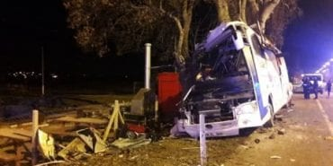 У Туреччині автобус з туристами заїхав у дерево: 11 загиблих, 40 травмованих