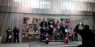 У Коломиї пройшов чемпіонат Прикарпаття з пауерліфтингу