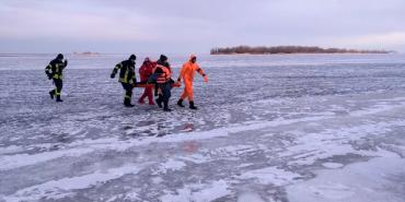 На Львівщині двоє дітей провалилися під лід, один загинув, інший – в реанімації