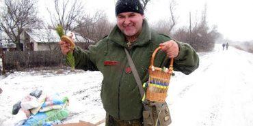 Капелан Василь Довганюк відвідав наших військових на Сході. ВІДЕО