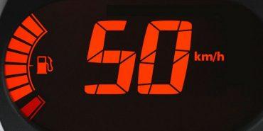 З січня швидкість авто в населених пунктах обмежується до 50 км/год
