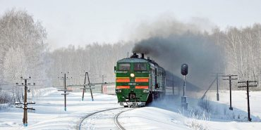 """""""Укрзалізниця"""" повідомила, що снігові опади не вплинули на рух поїздів"""
