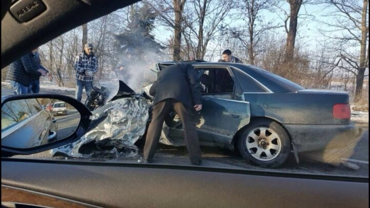 У мережі просять відгукнутися свідків масштабної аварії, що трапилась 19 лютого на тисменицькій трасі (відео)