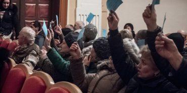 У Коломиї відбулося громадське слухання. ФОТО