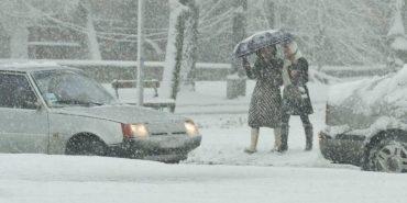 Сніг та хуртовина: на Прикарпатті очікується погіршення погоди