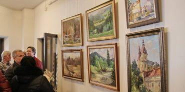У Коломиї відкрили персональну виставку живопису Миколи Яцурака. ФОТО