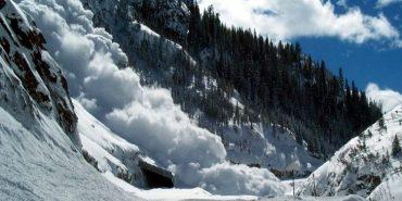 На Франківщині зійшло кілька снігових лавин