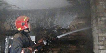 На Коломийщині горів будинок – загинув 44-річний власник. ФОТО