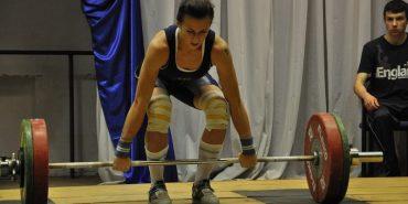 Важкоатлетка з Коломиї стала чемпіонкою України. ВІДЕО
