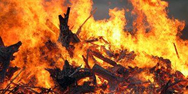 На Прикарпатті горіла сауна