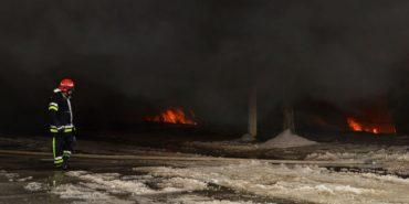 Мер Чернівців назвав попередню причину пожежі на Калинівському ринку