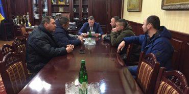 Івано-Франківські АТОвці вимагають у Міністра внутрішніх справ України не втягувати учасників бойових дій та ветеранів АТО у політичне протистояння