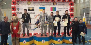 Борець з Коломиї Денис Сагалюк став чемпіоном України серед кадетів. ФОТО