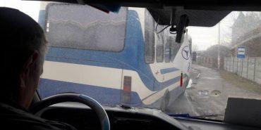 На Прикарпатті автобуси ганяють, як навіжені