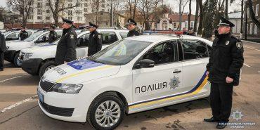 Коломийські правоохоронці отримали новий автомобіль від голови Нацполіції