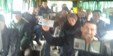 У Коломиї учасники АТО відреагували на інцидент з водієм, який відмовився везти дитину загиблого бійця