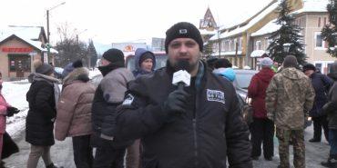 Яремчани перекрили державну трасу Івано-Франківськ — Рахів. ВІДЕО