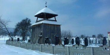 На Прикарпатті пограбували дзвіницю цвинтаря