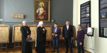 На Франківщині відбулося відкриття виставки сакральних реліквій. ФОТО