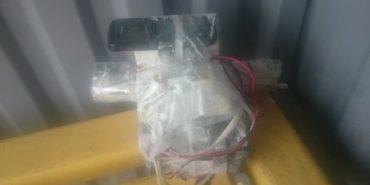 На зупинку одного з сіл Прикарпаття підкинули муляж вибухового пристрою. ФОТО